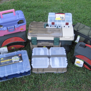 Plano Tackle Boxes for our Auction!