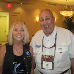 Betty with fishing TV star Mark Sosin