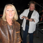 Betty with rock Star Rick Derringer
