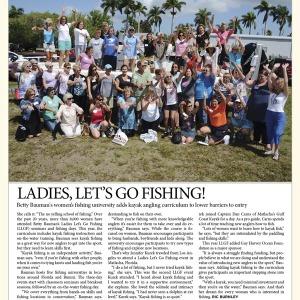 Kayak Angler Magazine Features LLGF