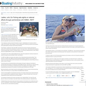 Boating Industry Applauds LLGF